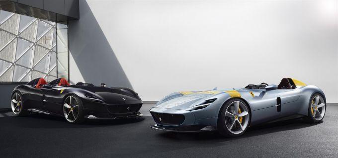 Ferrari Heeft De Monza Sp1 En Sp2 Onthuld Krachtigste