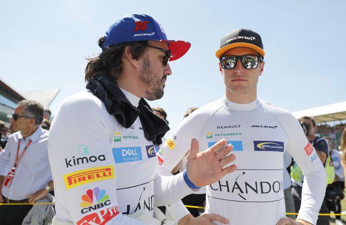 McLaren duo Alonso en Vandoorne IndyCar