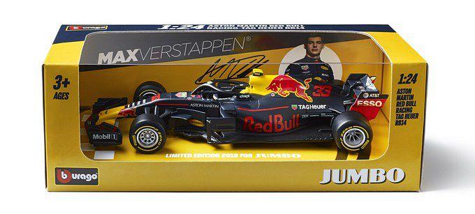 Sparen Voor De Winnende Red Bull Rb14 Raceauto Van Max Verstappen