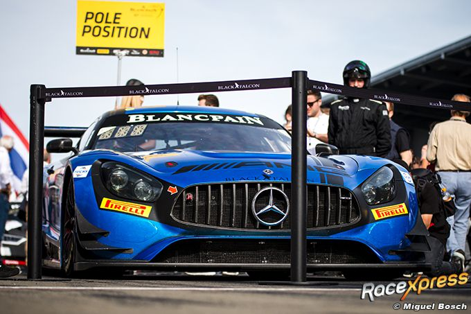 0500 Blancpain Nurburgring Mercedes pole position Miguel Bosch