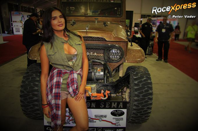 Take me for a ride in my Jeep sema show las vegas RX foto Peter Vader