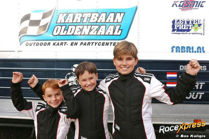 Racing brothers Bult met Nout, Mart en Job