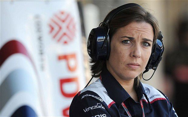 Claire Williams portret