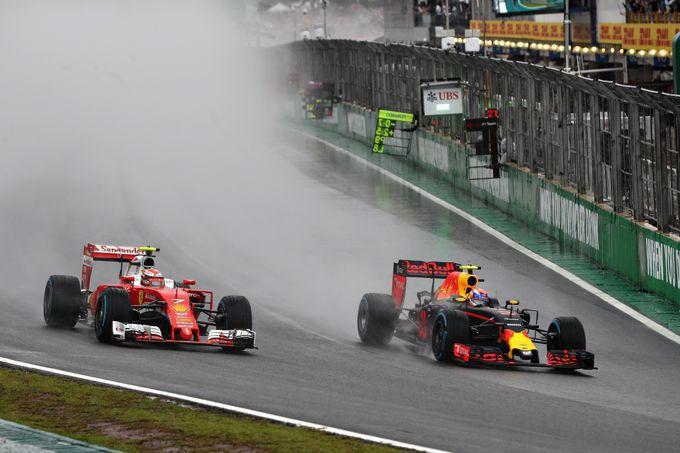 Max Verstappen wordt in Brazili� 2018