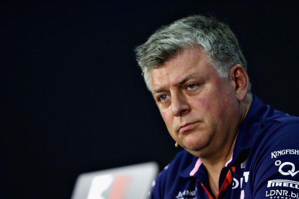Force India F1 Otmar Szafnauer