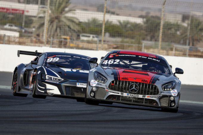 24H Dubai GT4 Ciceley Motors Mercedes AMG