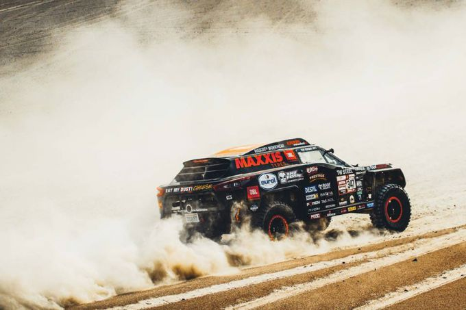 Dakar 2019 Tim en Tom Coronel