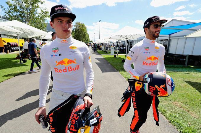 Daniel Ricciardo Vol Lof Over Max Verstappen Ik Ben Er Van