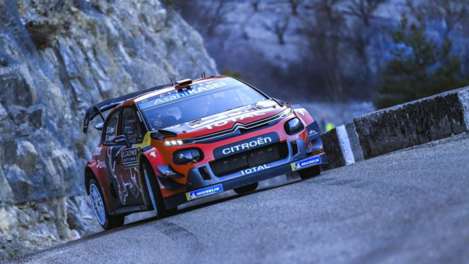 ogier wint rally monte carlo 2019 op zondagmiddag na zinderend finalegevecht met neuville. Black Bedroom Furniture Sets. Home Design Ideas