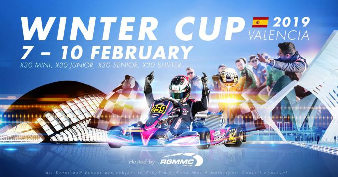 2019 IAME X30 Winter Cup Valencia @ Lucas Guerrero International circuit in Chiva