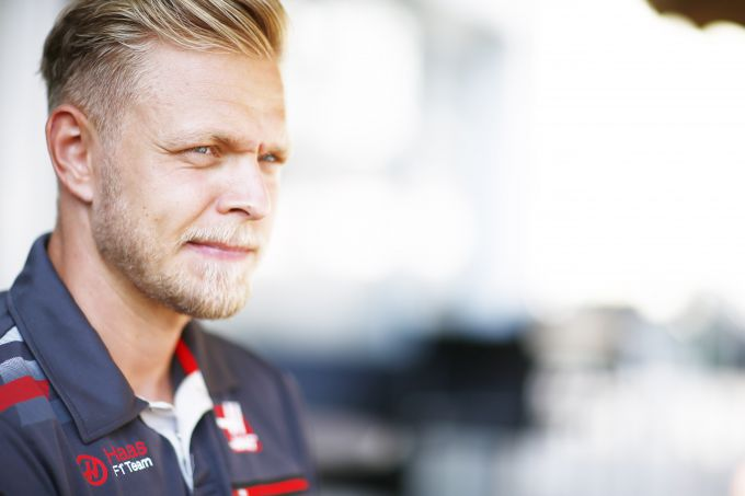 Kevin Magnussen portret Haas F1