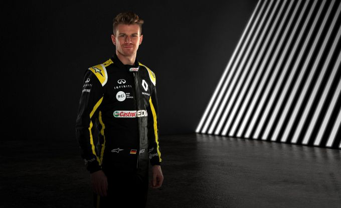 Nico Hulkenberg in Renault F1-race-overall