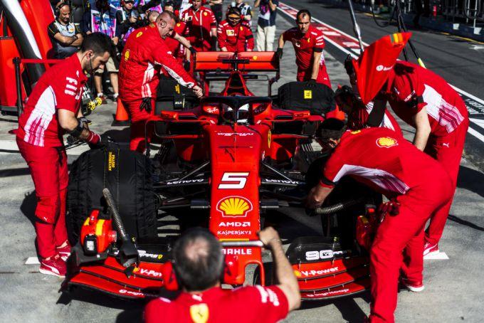 Formule 1 2019 Ferrari