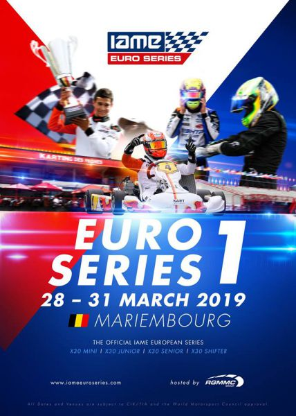 IAME X30 Euro Series by RGMMC op circuit Karting des Fagnes in Mariembourg