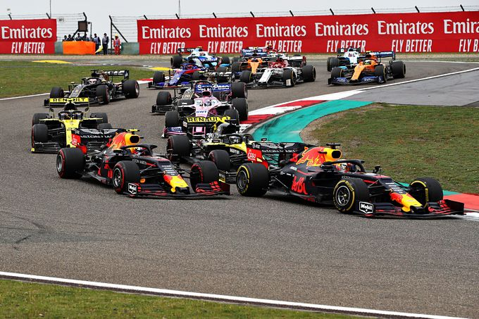 GP van China Max Verstappen
