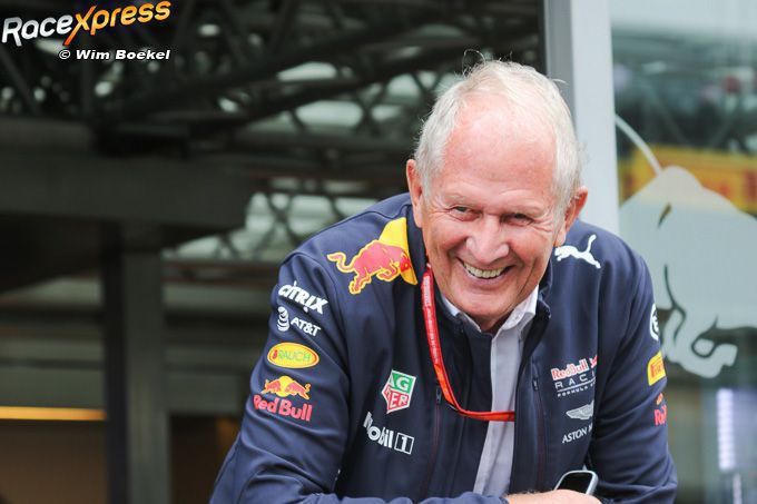 Helmut Marko Red Bull Racing