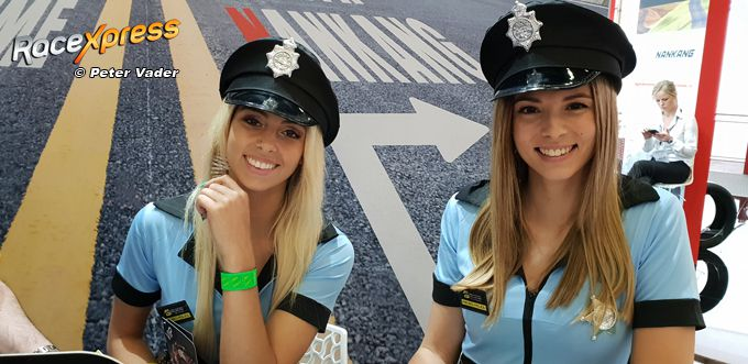 Foto Whats On A Mans Mind Politie Babes Mooi Blauw Is