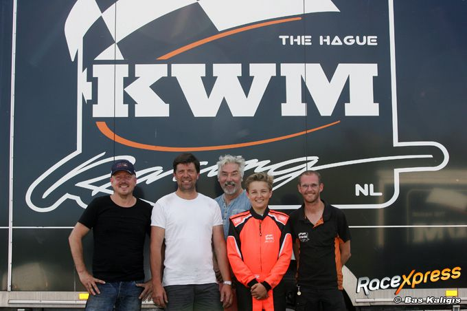 Berend van der Burg - KWM Racing