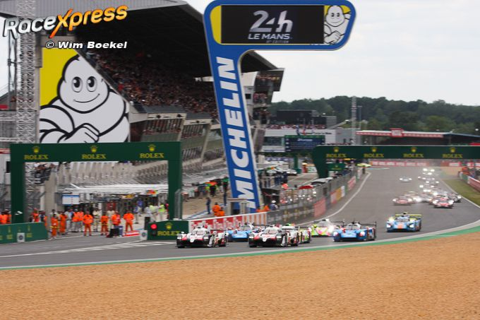 Start 2019 24 Hours of Le Mans