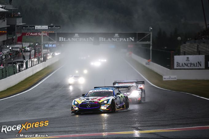 Total 24H Spa 2019 Mercedes nr4 Yelmer Buurman