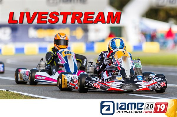 Livestream 2019 IAME International Final Le Mans