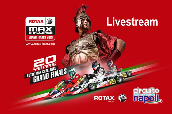CHECK all the action HERE via LIVESTREAMING Rotax Max Challenge Grand Finals 2019 Circuito Internazionale di Napoli in Sarno