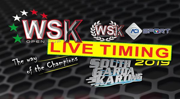 LIVE-TIMING WSK Open Cup in Lonato, South Garda Karting kartxpress