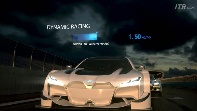 ITR DTM dynamic racing EV