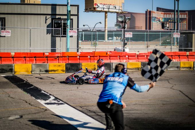 Robert de Haan naar podium bij race op wereldbekende 'The Strip' in Las Vegas