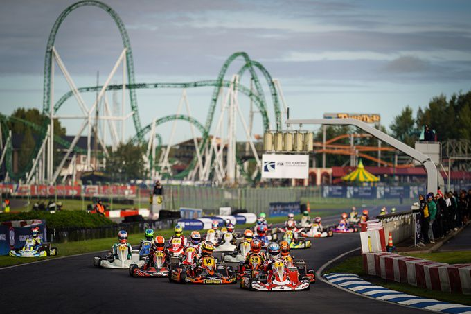 FIA Karting World / European Championships - OK, en FIA Karting European Championship - Junior