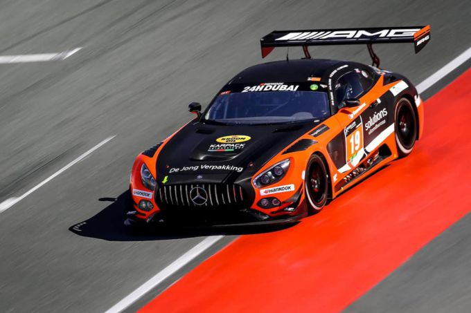 24H Dubai MP Motorsport Mercedes GT3 AM