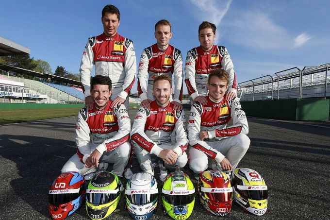 Never change a winning team DTM Audi