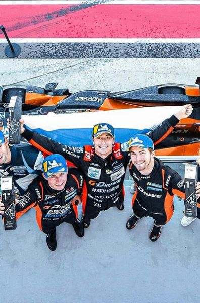 Leonard Hoogenboom Roman Rusinov James French G-Drive Racing with Algarve Asian Le Mans Series