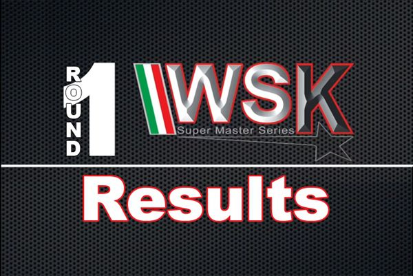 Results race 1 WSK Super Master Series 2020 Adria Karting Raceway