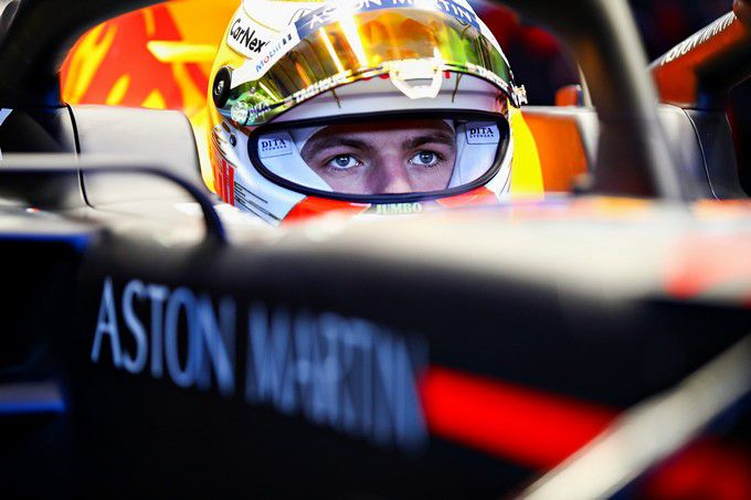 F1 Max Verstappen Red Bull RB16 Formula One