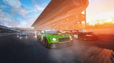Bentley sim racing
