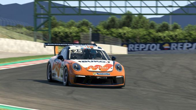 Larry ten Voorde Porsche Mobil 1 Supercup Virtual Edition