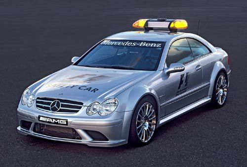 Safety Car Bernd Maylander
