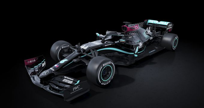 F1 2020 Mercedes black arrow