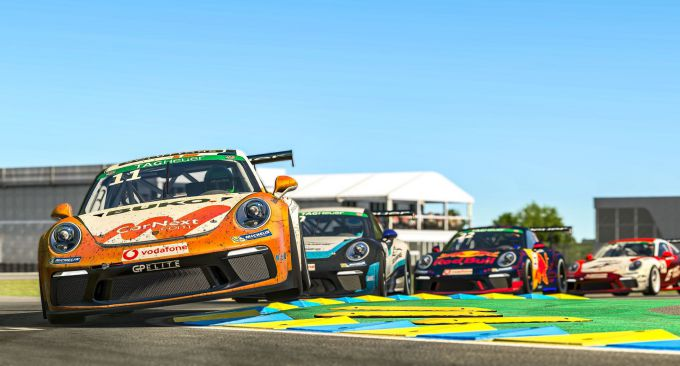 Porsche virtual 24H Nurburgring