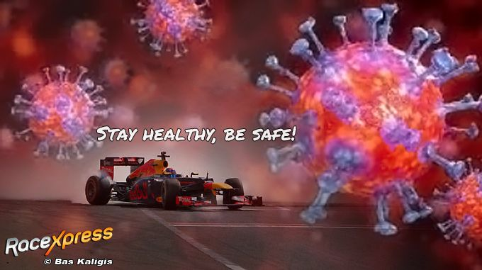 Covid 19 stay healthy be safe Max Verstappen Corona 2020 instagram racexpress