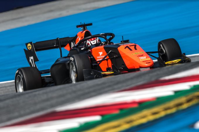 Richard Verschoor in FIA Formule 3 op de Red Bull Ring