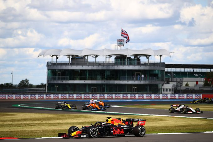 Ma Verstappen winnaar 70th edition GP Silverstone