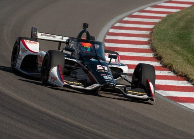 Rinus 'VeeKay' van Kalmthout Ed Carpenter Racing NTT IndyCar Series