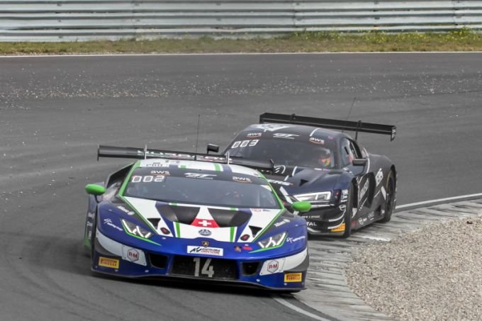GT World Challenge Europe Powered by AWS Lamborghini Emil Frey Mikael Grenier