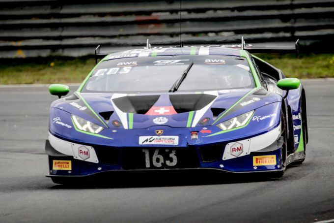 GT World Challenge Europe Powered by AWS Lamborghini Nr163