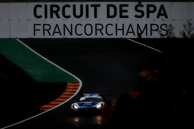 UPDATE Total 24 Hours of Spa DNF Mercedes