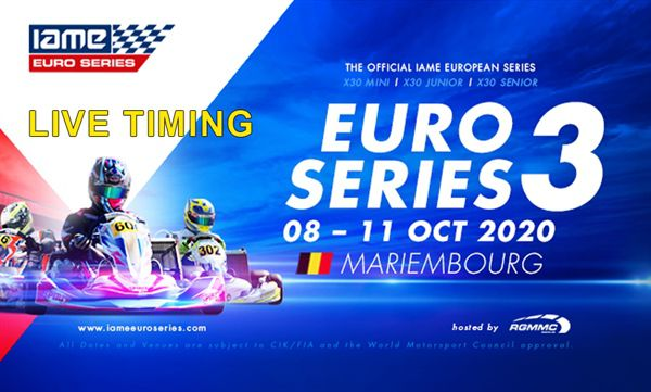 Livetiming IAME EuroSeries