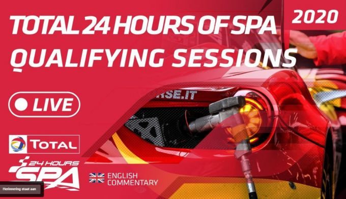 Total 24Hours of Spa live