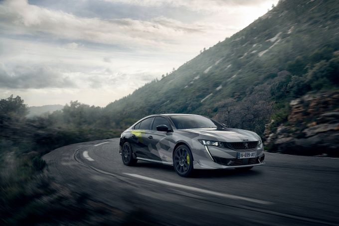 Peugeot 508 Sport Engineered HYbrid4